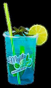 Blue Ocean Mojito